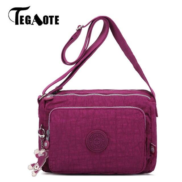 TEGAOTE Small Bags for Women Crossbody Messenger Bag Shoulder Nylon Waterproof Travel Bags Beach Bolsas Feminina Sac A Main