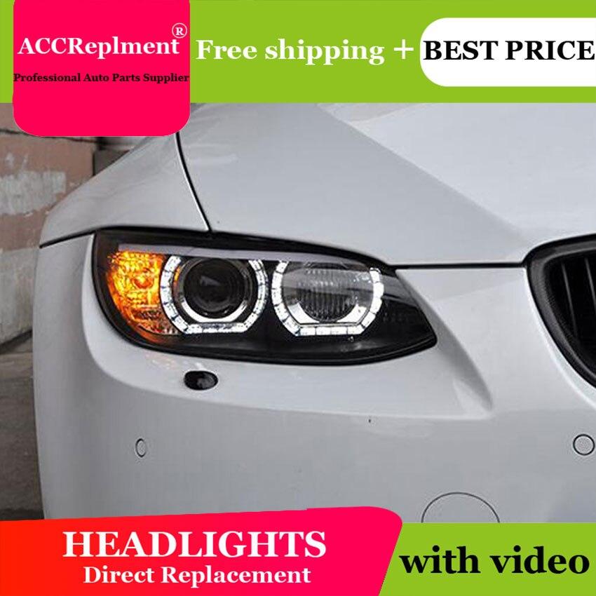 AUTO. PRO fari per BMW M3 E92 E93 08-13 auto styling bi xenon lente HA CONDOTTO LA luce di guida DRL H7 fari allo xeno per BMW M3 E92 E93