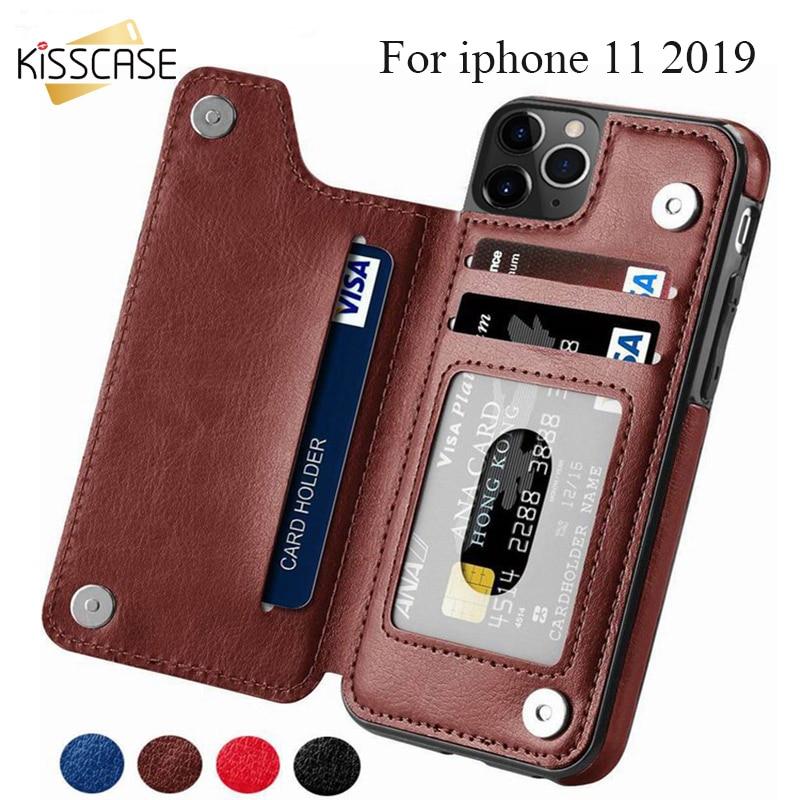 KISSCASE Wallet Cases For iPhone 11 Pro Max 6S 6 7 8 Plus XS Max Shell Innrech Market.com