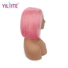 Brazilian Wig 13x4 Straight Lace closure Front Human Hair Wigs Pre-Plucked With Baby