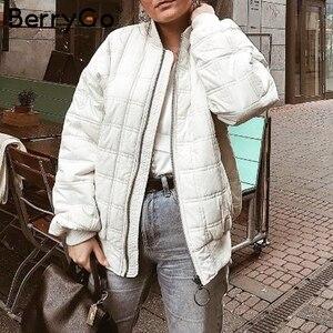 Image 5 - معطف فرو صناعي سميك منفوش للنساء من BerryGo معاطف شتوية للسيدات ناعمة غير رسمية بسحاب معطف خارجي من الفرو مزيف سترات للسيدات