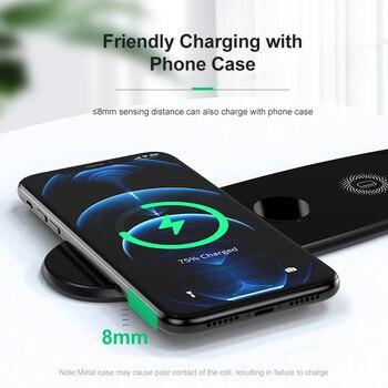 Беспроводное зарядное устройство KUULAA 3 в 1 для iPhone 12 Samsung 3