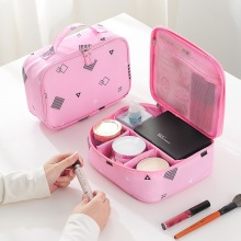Travel Makeup Train Case Makeup Cosmetic Case Organizer Portable Artist Storage Bag