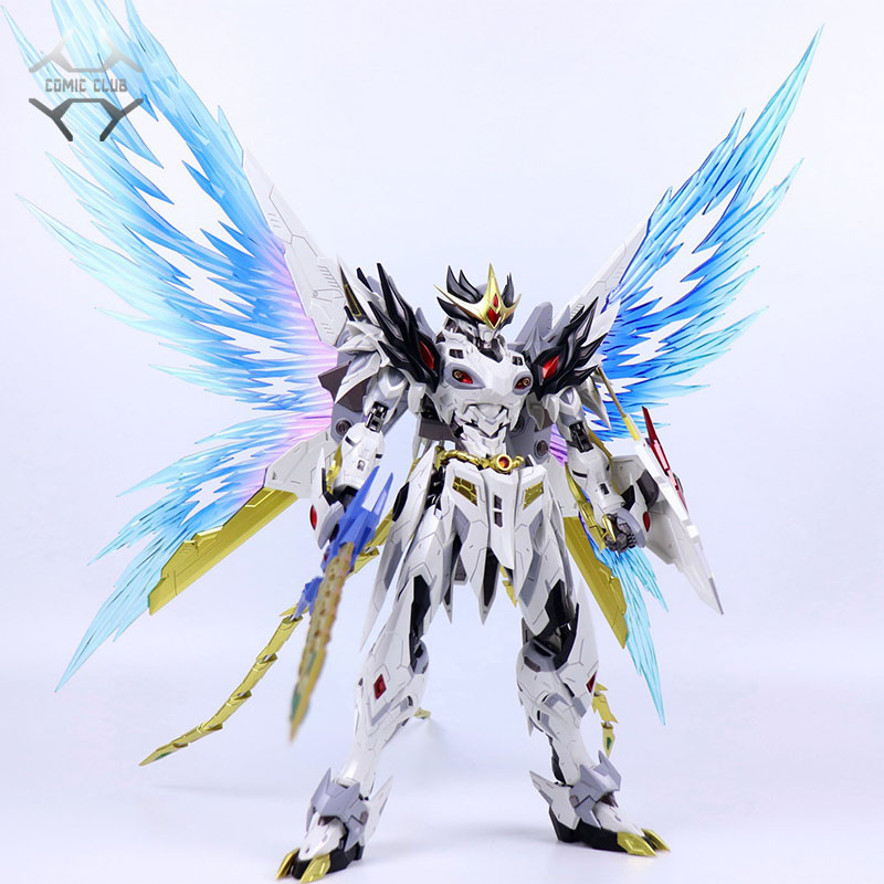 COMIC CLUB IN STOCK MOTOR NUCLEAR MN Q02 MB metal build 1/72 caoren alloy deformation action figure robot toyAction & Toy Figures   -