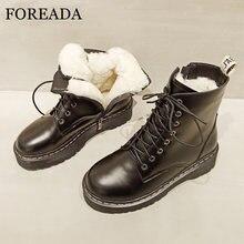 Foreada/мотоциклетные ботинки из натуральной кожи; Ботильоны