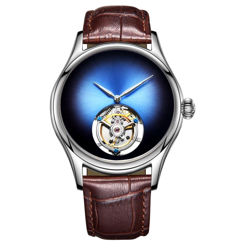 Guanqin Tourbillon Men Watches 2019 Luxury Mechanical Watch Real Brand 100% Waterproof  Tourbillon Clock Men Relogio Masculino