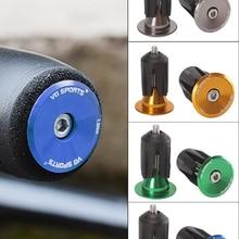 Grip-Handlebar End-Plugs Bar-Grips Bicycle MTB Aluminium-Alloy-Lock for 1-Pair