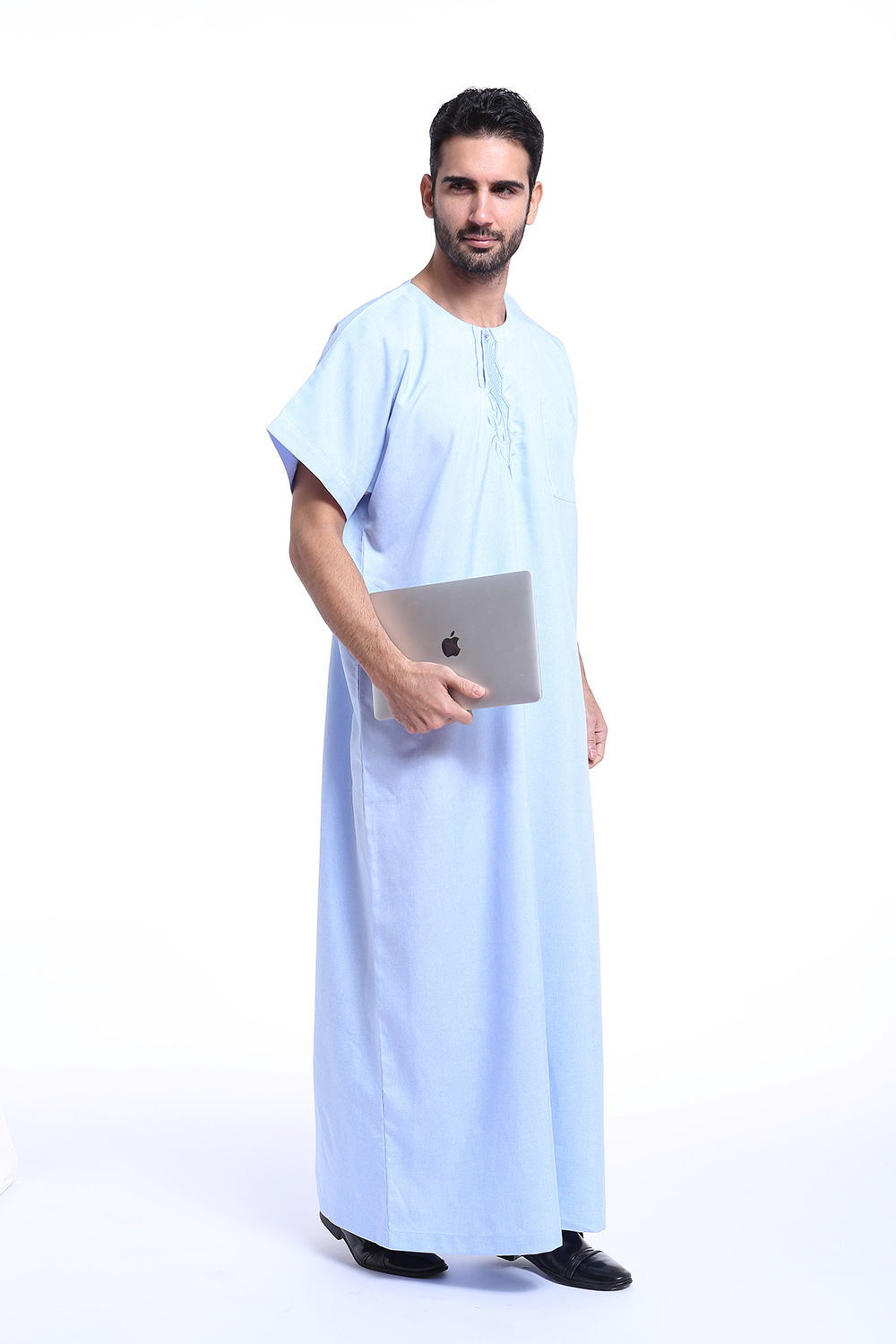 2019 New Style Muslim Men Clothing Middle East Arab Robes Hui Nationality Clothing India Long Sweater