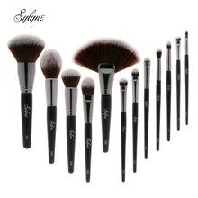 Sylyne 12 шт. набор кистей для макияжа Высокое качество мягкий Классический Профессиональный набор кисточек для макияжа Набор инструментов