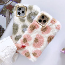 Leopard Winter Warm Phone Case For iPhone
