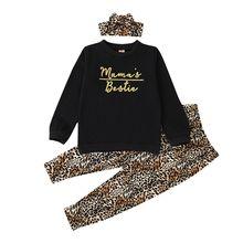 Комплект одежды для маленьких девочек хлопковые топы с длинными