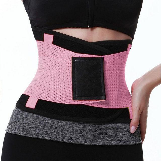 Hot Body Shapers Unisex Waist Cincher Trimmer Tummy Slimming Belt Latex Waist Trainer FitnessPostpartum Corset Plus Size Fitness 1