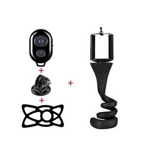 Image 5 - Monkey Stick Pod   Flexible Camera Tripod Mount and Selfie Stick for Gopro  SJCAM  Xiao Yi Mi Action Camera and Smartphone