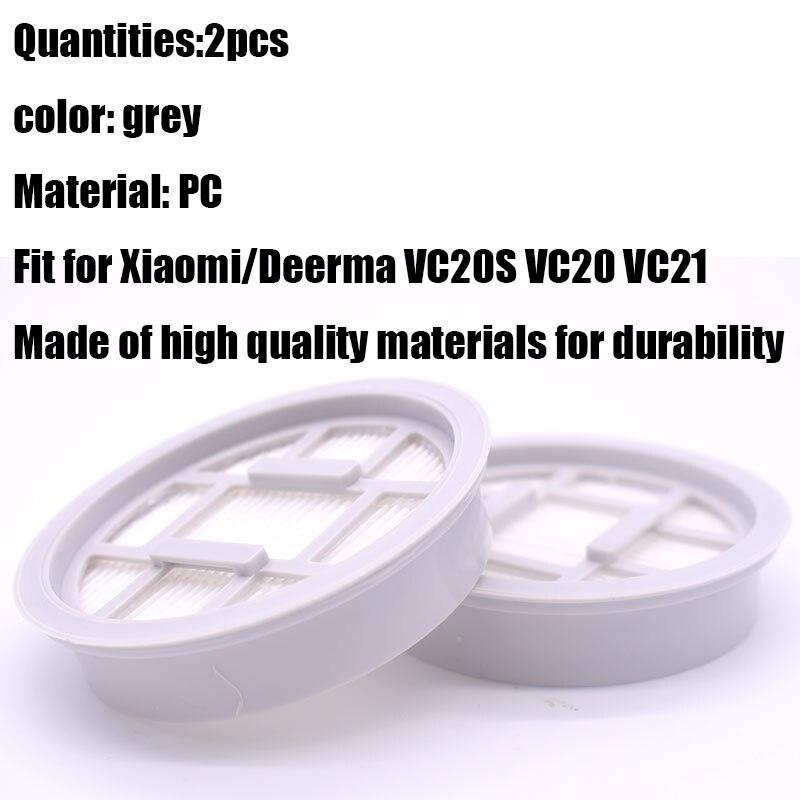 2Pcs Hepa Filter for xiaomi Deerma VC20S VC20 Handle Vacuum Cleaner Pa jbBACAbw
