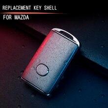 Auto schlüssel schutz abdeckung abdeckung schlüssel shell schnalle zubehör gelten für Mazda CX30 CX-30 2019 2020 AXELA 2020