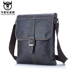 Мужская сумка из натуральной кожи, сумка на плечо, деловая сумка-мессенджер для IPAD, повседневная сумка-тоут через плечо, органайзер-слинг, до...