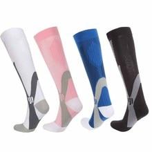 Sports Socks Leg Support Elastic Outdoor Compression Running Ski Stockings