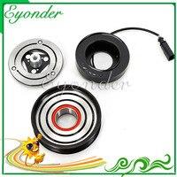 AC Compressor de Ar Condicionado Embreagem Eletromagnética Magnético A4 A5 Q5 6SAS14C para Audi 2.0 447280-7032 4472808820 8T0260805F