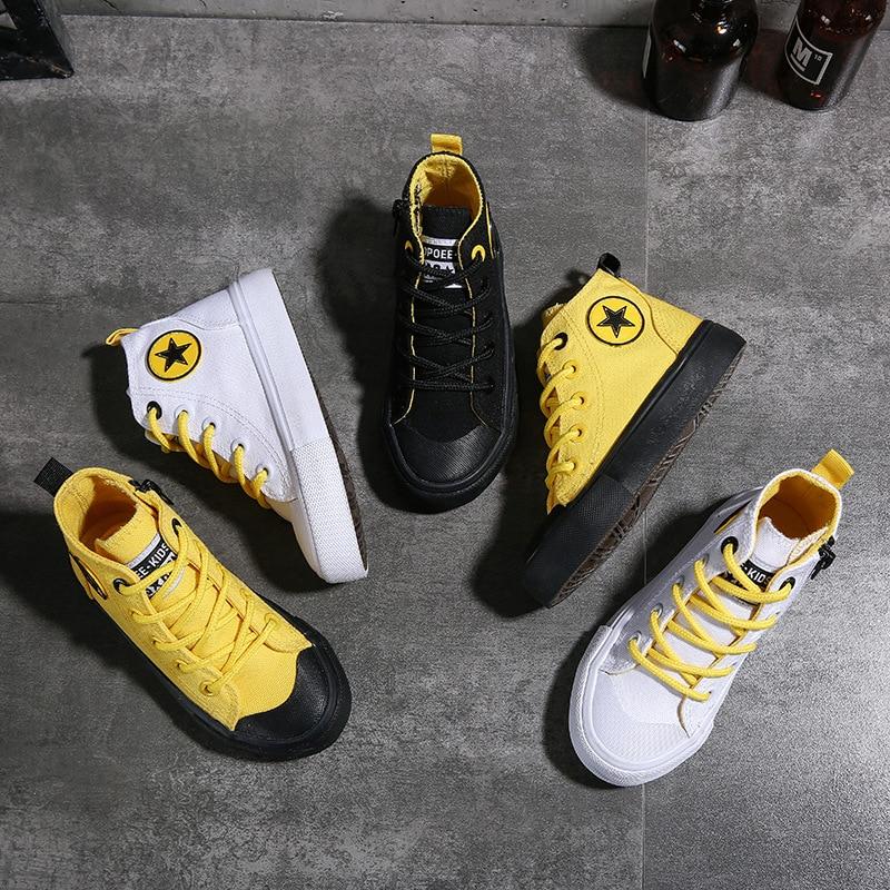 2020 printemps mode enfants baskets filles baskets garçons chaussures enfants toile chaussures taille 25-38 enfants chaussures