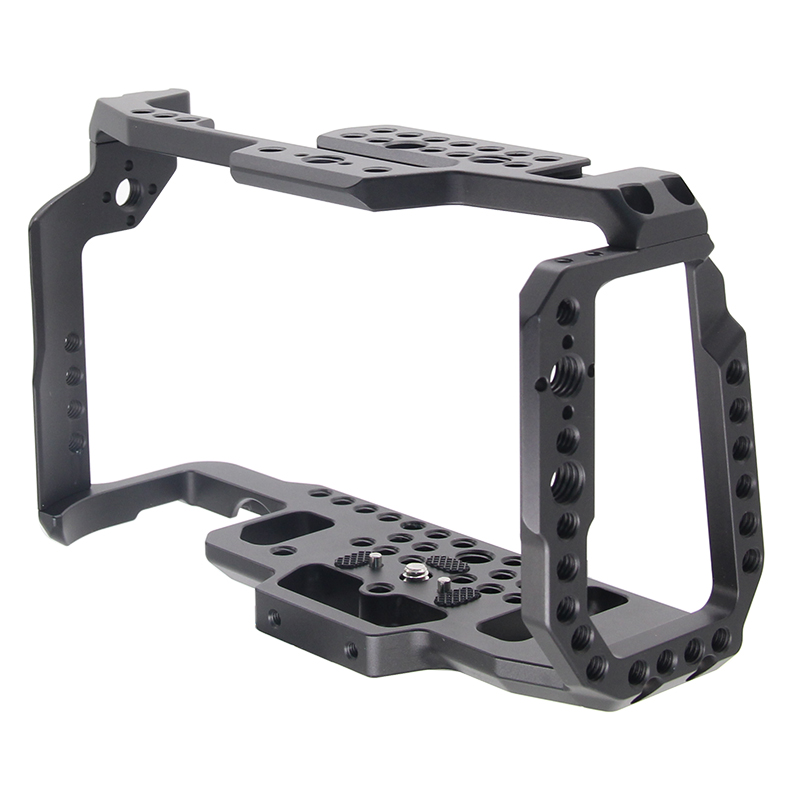 For BMPCC 4 K 6 K Camera Cage Video Film Movie Cage Quick Release Plate For Blackmagic Pocket Cinema Camera 4K/6K BMPCC 4K 6K