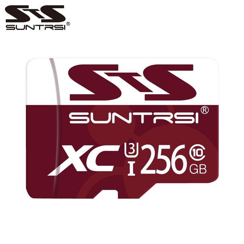 Suntrsi Original Micro SD Card 256GB Class 10 Up To 95MB/S Microsd 128GB/64GB/32GB/16GB Class 10 Up To 80MB/S For Phones Cameras
