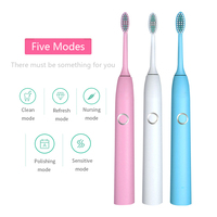 DXM electric toothbrush adult net red girl home fur male and female couple students smart automatic charging electric toothbrush