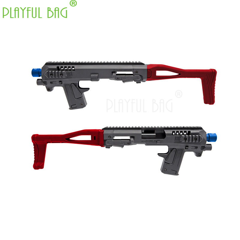 PB Playful Bag Outdoor Sports Fun Toy P1 CAA Folding Carbine Kit Water Bullet Gun Modified Nylon Model ND11