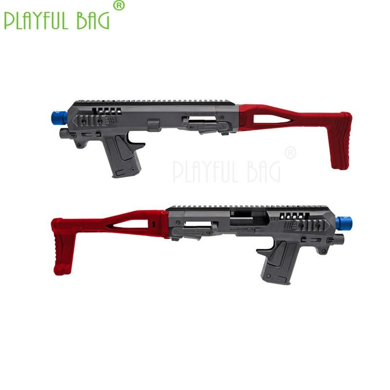 PB Playful Bag Outdoor Sports Fun Toy P1 CAA Folding Carbine Kit Water Bullet Gun Modified Nylon Model ND11