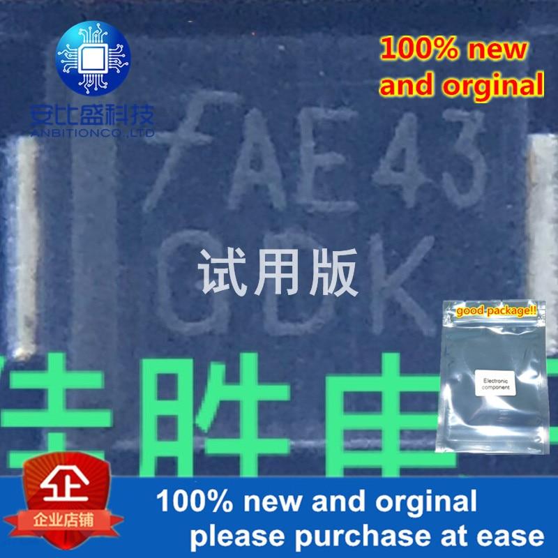 20pcs 100% New And Orginal SMCJ6.5A DO214AB Silk-scree GDK In Stock
