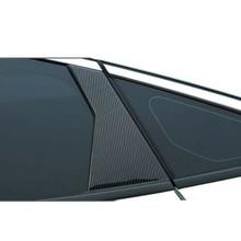 8 шт., наклейки на окна автомобиля, из углеродного волокна