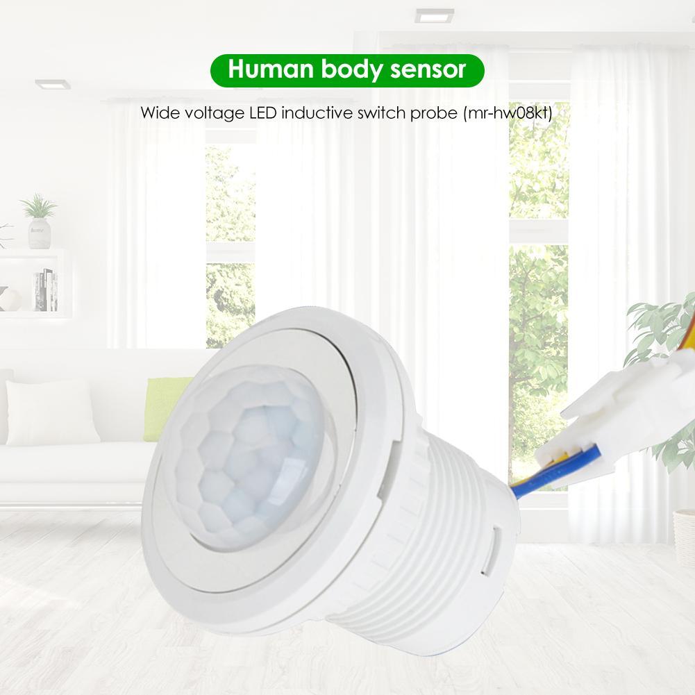 85-265V Infrared Motion Sensor Detection Automatic Mini Sensor Home Lighting LED Detector Module