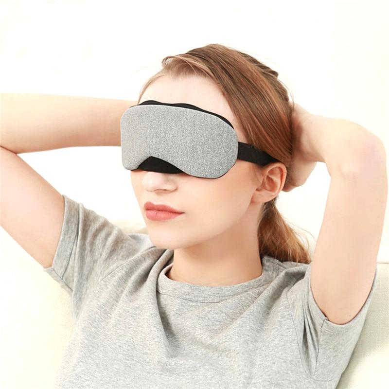 USB Controle de Temperatura de Calor de Vapor de Algodão Máscara de Olho Seco Cansado Compressa Quente Aquecimento Almofadas Remendo do Olho do Cuidado do Olho Ajustável Automático