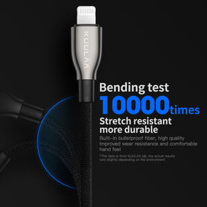Image 2 - KUULAA Type C to Lightning Cable MFI PD USB C cable for iPhone 11 Pro Max X XS 8 XR Fast Charging Type C Cable For Macbook iPad