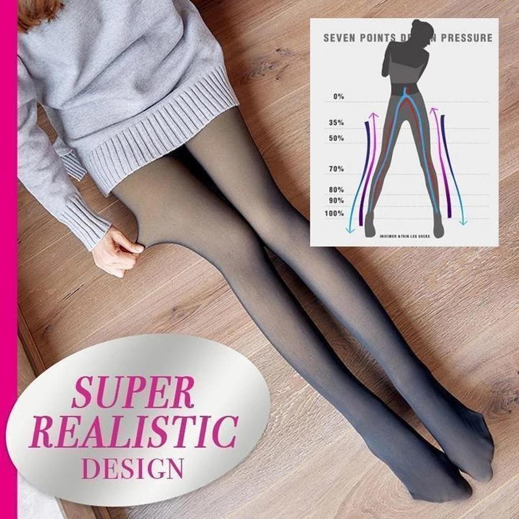 Plain Solid Mock Thigh High Stockings// Pantyhose// Tights Urban Sheek