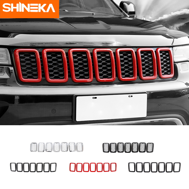 Front Grille Decorative Cover Original Models For Jeep Grand Cherokee 2014-2016