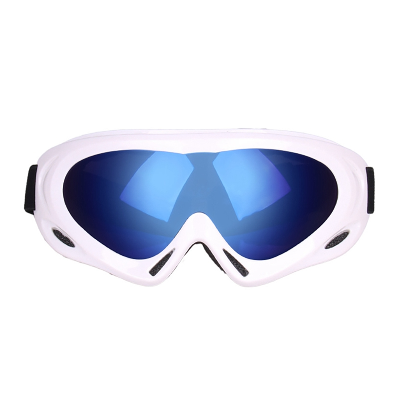 Winter Snowboard Ski Goggles Dustproof Military Sunglasses Cycling Goggles Single Layer Windproof Eyewear For Adult Children