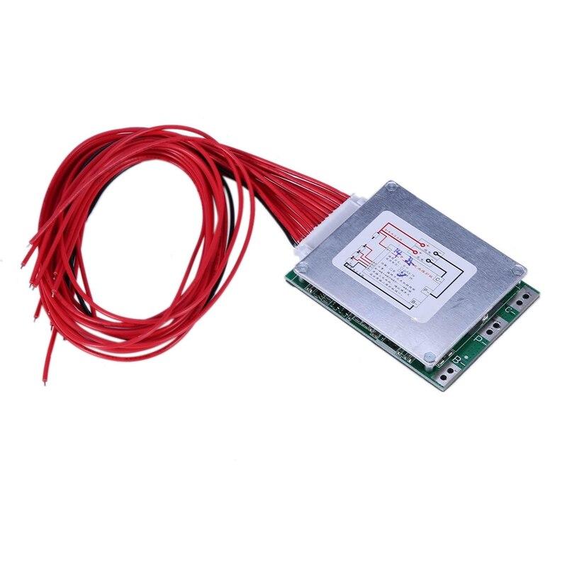14S 52V 35A Li-Ion Lipolymer Battery Protection Board BMS PCB Board For E-Bike EScooter