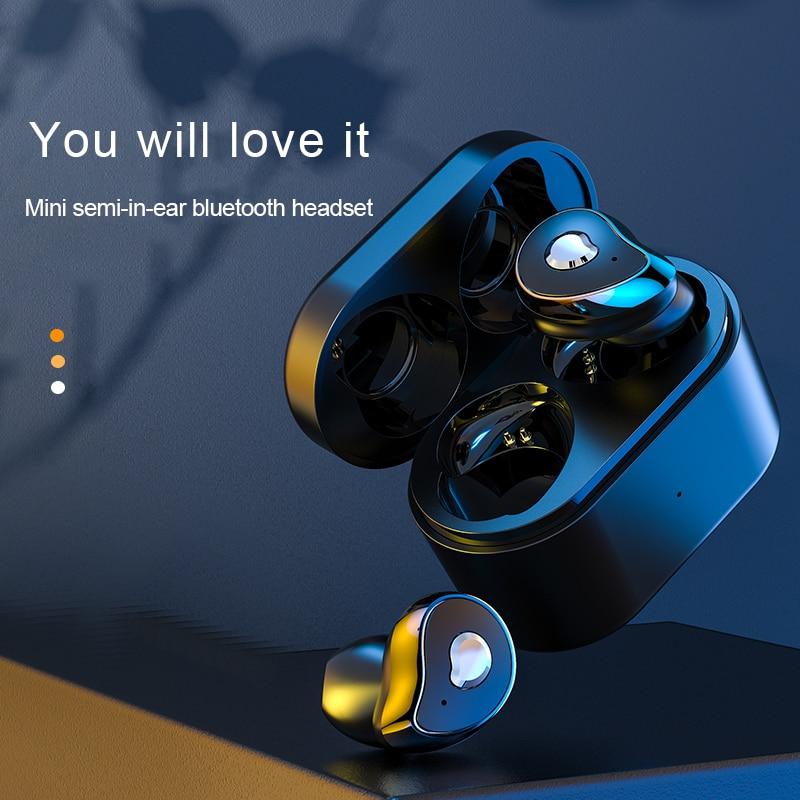 Venider SE-6 tws fone de ouvido sem fio bluetooth 5.0 fones caixa carregamento mini estéreo esportes à prova dwaterproof água com microfone