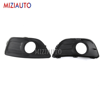 цена на 1pcs Front Bumper Fog Lamp Light Cover for Citroen C4 2008-2011 Front Fog lights Lamp Frame