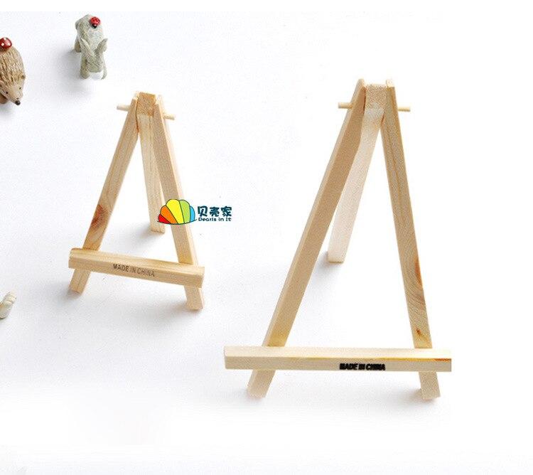 Tripod Small Easel Framework Mini Fine Art Works Holder Phase Logs Unisex Oil Easel Drawing Board Kindergarten