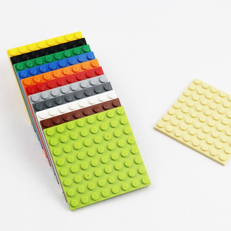 LEGO LOT OF 50 New BLACK 2 X 10 DOT PLATES BUILDING BLOCKS PARTS
