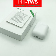 i11 i7s TWS Wireless Earphone Portable Bluetooth 5.0 Headset Invisible Earbud for IPhone 11 X 8 7 Plus For Xiaomi Android(China)
