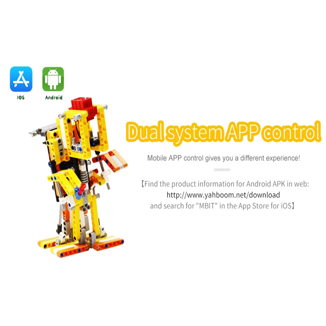 Program Intelligent Walking Robot Kit Steam Programming Education Robot For Micro:bit(Including/without Micro:bit Board)