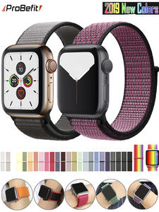 Band Replacement-Strap Watch-Series Sport-Loop Apple Nylon 40MM 42MM 44MM Breathable