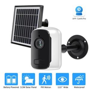 Outdoor IP Camera 1080p HD Battery WiFi Wireless Surveillance Camera 2.0MP Home Security Waterproof PIR Alarm Audio Low Power(China)