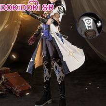 PRE-SALE dokidoki-sr jogo genshin impacto cosplay traje albedo impacto genshin cosplay albedo traje
