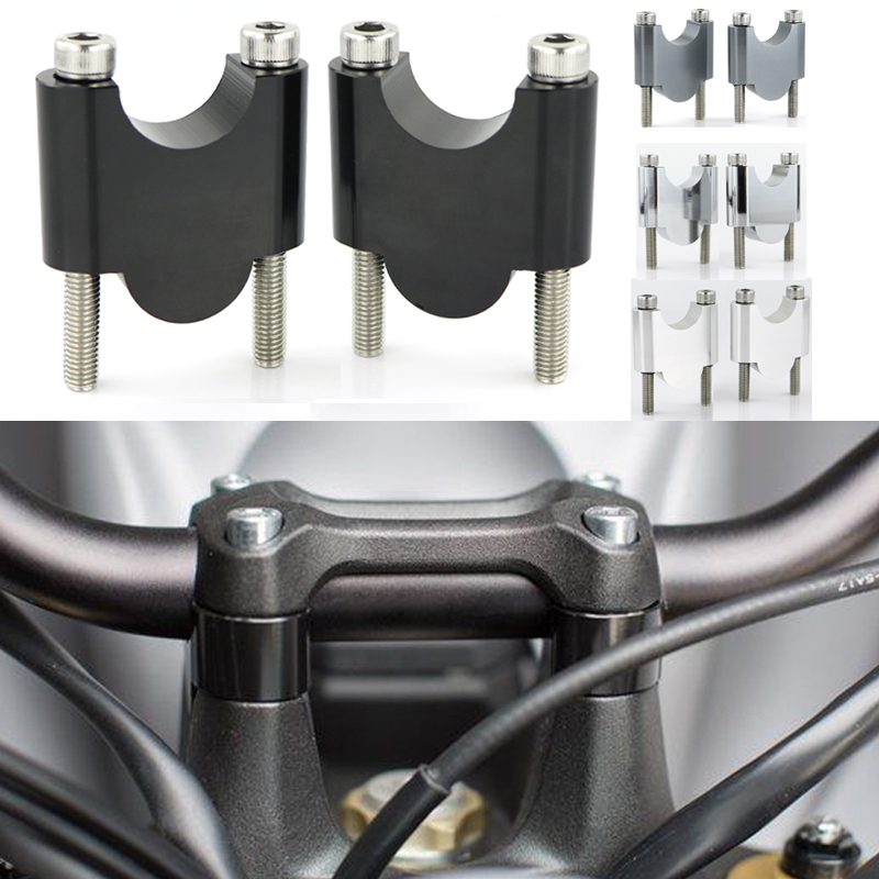 For KTM Duke 690 790 Duke 1290 Super Duke 28mm 1 1 8inch Handle bar Handlebar Risers Mount Riser CNC Billet Aluminum