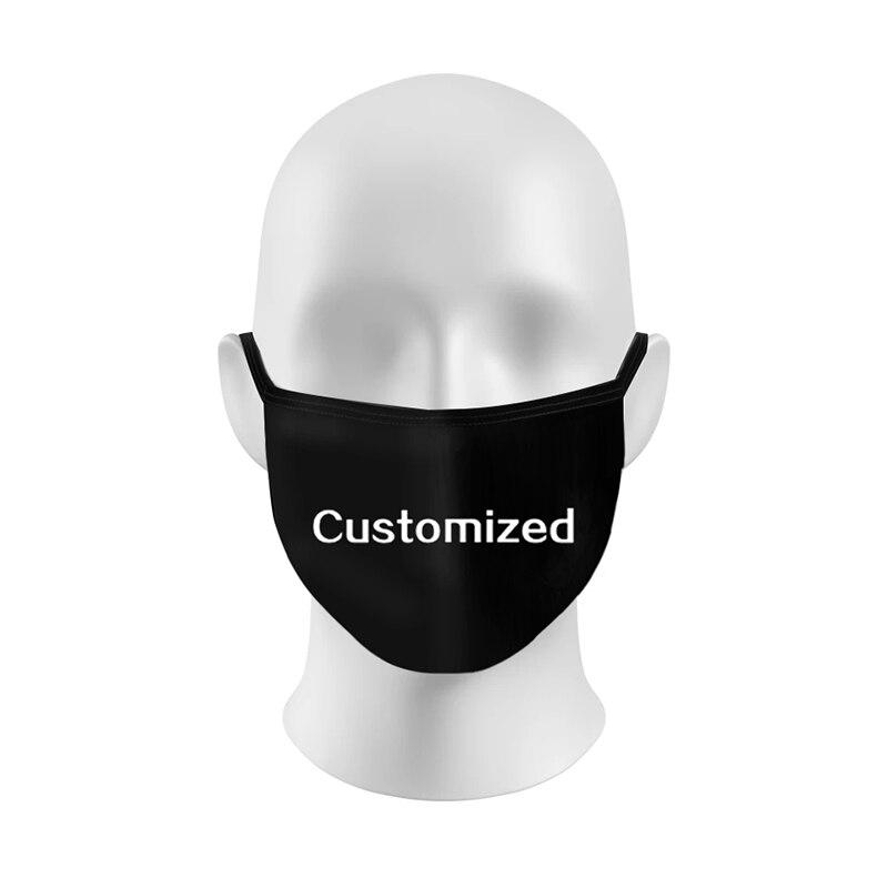 Модная хлопковая маска K-POP, модные маски для рта, хлопковая Тканевая маска, моющаяся Пылезащитная маска