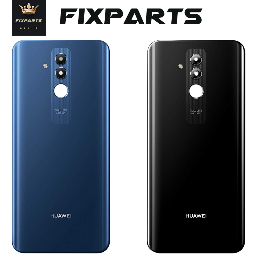 Original Huawei Mate 20 Lite Back Battery Cover Glass Housing Door Case With Camera Lens Huawei Mate 20 Lite Rear Housing Glass