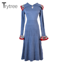 długość sukienki sukienka Flare,